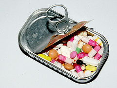 GMO (brescia, italy) (bloodybee) Tags: stilllife can explore drugs medicine pills gmo gettyimages meds ogm