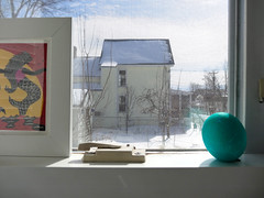 snow out there (On Bradstreet) Tags: easter spring maine traditions rituals vernalequinox homeandgarden ostara march21 unschooling onbradstreet secularpagan