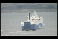 Scotland Greenock tugs and big waves going over their bows 21 March 2013 video by Anne MacKay (Anne MacKay images of interest & wonder) Tags: march scotland greenock 21 rough tugs seas 2013 videobyannemackay