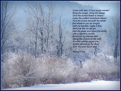 Robert Frost poem - Come Spring (edenseekr) Tags: early spring meadows nystate illustratedpoem