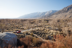 Lone Pine Campground (CodySLR) Tags: california trip beautiful canon landscape photography miniature photographer desert shift smith adventure cody tilt tiltshiftphotography miniaturelandscape 5dmkii canon24mmf35tse codyslr
