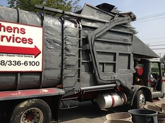 Athens Services (Scott (tm242)) Tags: classic trash dumpster truck los garbage angeles body low can athens front pack commercial trucks fl manual refuse recycle loader recycling load residential carry entry packer fel able glendora amrep triaxle