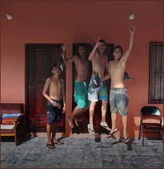 """""""Pura vida"""", per i ragazzi del Roble. (ticinoinfoto) Tags: costarica puntarenas centroamerica ticos roble flickrdiamond matadelimon"""