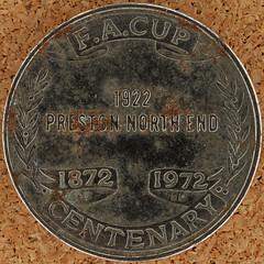 FA CUP CENTENARY 1873-1972 (Leo Reynolds) Tags: canon eos iso100 squaredcircle 60mm token f80 0sec 40d hpexif 066ev xleol30x sqset092 xxx2013xxx