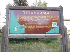 Teton Range Historic Marker (jimmywayne) Tags: historic idaho marker tetonrange tetoncounty