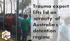 Trauma expert lifts lid on 'atrocity' of Australia's detention regime (HopeGirl587) Tags: atrocity australias detention expert lid lifts regime trauma