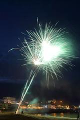 Fireworks 9 20160727 (Steve TB) Tags: broadstairs vikingbay beach sea fireworks canon eos5dmarkiii jetty bleakhouse