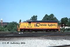 WM 5635 on 6-24-78 (C.W. Lahickey) Tags: wm emd gp7 connellsville