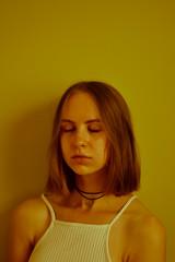 53/365 Summer's passing (Adanethel) Tags: 365 365days light colours portrait self selfportrait