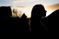 05082016-DSC_0149 (stefanocalvani92) Tags: silhouette controluce sunset twilight girl profilo