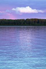 Canadian Lake Colors (matthewkaz) Tags: nagagami nagagamilake lake water fishing fishcamp cloud clouds sky colors reflection reflections expeditionsnorth ontario canada 2016
