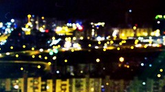 City lights, right off the corner. #Izmir #city #lights #blur #nightscene (rainbowyeung) Tags: floater night turkey izmir city lights blur nightscene