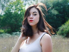 14274359_1082396035189554_682922152_o (LucilleV.) Tags: portrait forest redlips girl hair