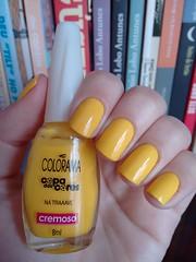 Na traaave - Colorama (Mari Hotz) Tags: amarelo colorama esmalte unha