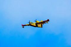 firefighter at work (stevazi) Tags: bogliasco canader d3200 nikon aereo vigili del fuoco
