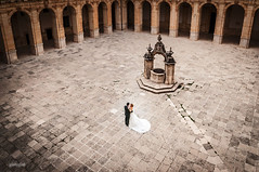 Dancing in The monastery courtyard (Javier de Miguel) Tags: ifttt 500px architecture stone building castle people outdoors court old monument religion ancient spain