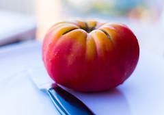 Tomato (Derek John Lee) Tags: tomato juicy tasty stilllife red