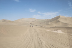 IMG_6726 (chungkwan) Tags: china chinese gansu province weather dry sands canon canonphotos travel world nature landmark landscape   dunhuang  crescent crescentlake  mingsha mingshamountain  camels silkroad