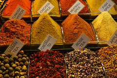 Epices et ths colors Spices and teas _3322 (ichauvel) Tags: spices pices ths teas couleurs colours colorful color pyramides pyramids turquie turkey europ asia travel voyage jour day exterieur outside istanbul march market street photography rue souks getty