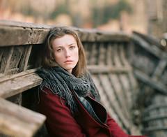 Ulana. (vladimir_romansky) Tags: pentax 67 pentax67 film 6x7 medium format kodak tmax girl portrait push 105mm bokeh people indoor