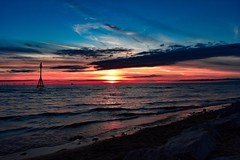 Breathtakingly beautiful (melissac18781) Tags: liverpool crosbybeach crosby sunset