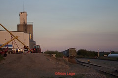 Malcom (eslade4) Tags: iais iowainterstaterailroad malcom coveredhoppers elevator