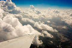 The Big Turn (Andy Marfia) Tags: chicago sky clouds airplane wing window turn landing sony rx100 1500sec f8 iso125