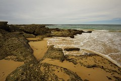 Strange Formations (Paul Hollins (offline - on holidays)) Tags: aus australia bungareenorah newsouthwales norahhead nikond750 nikon1635mmf4 seascape soldiersbeach rocks erosion