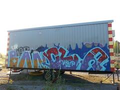 random graffiti (Thomas_Chrome) Tags: graffiti streetart street art spray can moving target object illegal vandalism suomi finland europe nordic boxcar