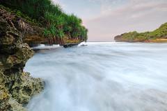 Krakal 2 Beach, Yogyakarta (nGkU Li) Tags: ngkuli fujifilm xpro2 nature indonesia yogyakarta seascape slowshutter sea landscape flickrtravelaward beach krakal hightide