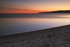 pancake bay provincial park, ontario (twurdemann) Tags: 09ndsoftgrad beach fujixt1 gnd3s hoyandx8 lakesuperior leeseven5 longexposure neutraldensityfilter nikcolorefex northernontario ontario ontarioparks pancakebay provincialpark seascape shoreline sky summer sunset swim