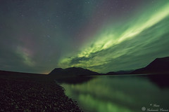 Northern Lights (Geinis) Tags: nature northern night northernlights norurljs northerneurope aurora auroraborealis iceland sland canon canon70d tokina1116mmf28 star water mountain mountains
