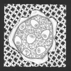 Tangle Art (enajylime) Tags: art pen doodle tangle zentangle