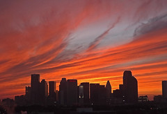 Fabulous January Sky - 9330 (miss_betty2012) Tags: sunset sky colors skyline clouds dallas texas tx cityscapes cloudssky