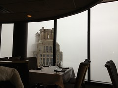 Lunch at the Sundial at The Westin Peachtree Plaza (beachkat1) Tags: sundialrestaurantbarview uploaded:by=flickrmobile flickriosapp:filter=nofilter