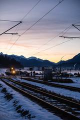 Lokomotywa (Tessalina Sofia Photography) Tags: winter snow classic train germany deutschland track garmisch