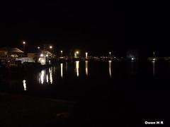 Kirkwall Harbour (Owen H R) Tags: sea reflection scotland pier boat orkney kirkwall owenhr