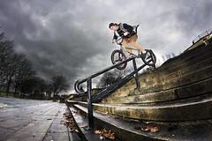 James Curry Crank Arm Liverpool (www.ryanhallett.co.uk) Tags: street james bmx arm bikes curry crank bmxing
