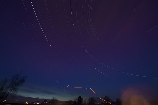 unsuccessful star trails