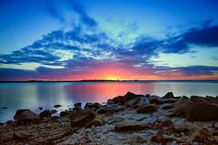 Shaving Point (vorka70) Tags: sunset lake nikon rocks lee nik nikkor gippsland metung lakeking eastgippsland 10stop nikond90 nikkor1685 shavingpoint vorka leebigstopper vorka70 abcopen:project=lookingup
