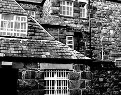Dolgellau Shapes and Textures # dailyshoot #Wales #Monochrome (Leshaines123) Tags: les wales project angle image haines patterns north picture shapes textures 365 snowdonia dolgellau dailyshoot anawesomeshot me2youphotographylevel1 leshaines