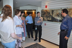 Visit of Helka Julkunen, Head of Worldwide Green Office Program to Engro Head Offices at Karachi Pakistan escorted by the GO Lead Person for all Engro Comaonies, Wajid Hussain Junejo (Green Office Engro) Tags: pakistan foods mine corporation mohammed fertilizer agriculture coal powergen engro chemical ansari csr hussain polymers wajid junejo fertilizers aluddin secmc ruhail