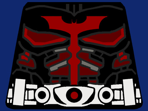 Lego nolan batman beyond torso decal