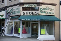 Copp's Shoes New Westminster BC (Robert Bortolin) Tags: canada canon shoes bc newwestminster columbiastreet copps westminsterquay coppsshoes