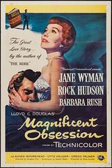 Magnificent Obsession (1954 / Universal-International) 1 sheet (KlaatuCarpenter) Tags: movieposter douglassirk roybesser