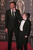 Chris O'Dowd and David Rawle at Irish Film and Television Awards 2013 at the Convention Centre Dublin
