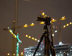 tripod and cranes (trydberg) Tags: longexposure winter night vinter stockholm kvll 2013 lngexponering fotokvll