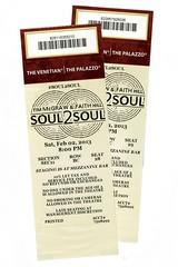 soul2soul (mudsharkalex) Tags: tickets ticketstubs lasvegas nevada ticket venetian tix venetianhotel timmcgraw ticketstub thevenetian lasvegasnv faithhill soul2soul venetiancasino
