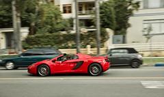 red (rosso corsa?) McLaren (McManF1) Tags: red car 1 santamonica cruising convertible f1 exotic mclaren formula expensive exclusive v8 roadster oceanavenue rossocorsa mclarenmp412c 12cspider
