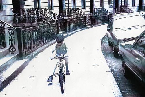 Riding a Bike, 1980s